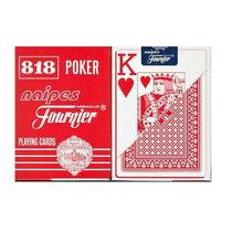Juego Cartas De Poker Naipes Fournier 818 Set 55pz Azul/rojo