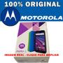 Caixa E Manual Motorola Moto G3 Tv Xt1544 Nova Original