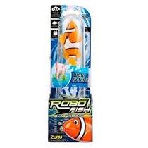 Robo Fish Peixe Robótico Que Move Na Água S/ Controle - Dtc