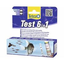 Teste Tetra 6 Em 1 Aquários Água Doce Cl Gh Kh Ph No2 E No3