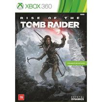 Rise Of The Tomb Raider X360 Português Frete Grátis