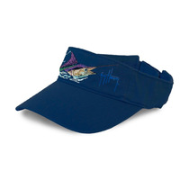 Visera Guy Harvey Ghh23004 Color Azul Marino