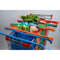 Bolsa Carrito Supermercado ( Bolsanova) Changuito Set De 4