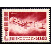 Brasil Aéreos 79 Y Marmorizado Santos Dumont 14 Bis Nnn