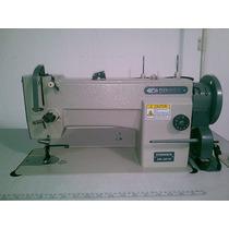 Maquina De Coser 1 Guja Triple Arrastre Lubricacion Automati