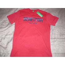 Polo Benetton ( Rojo ) : Talla X S