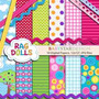 Kit Imprimible Pack Fondos Lalaloopsy 3 Clipart