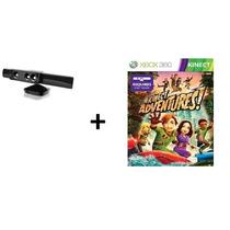 Sensor Kinect Xbox 360+jogo Adventures E Fonte Original.