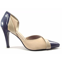 Sapato Scarpin Colorido Lindo Perfeito Nos Pés