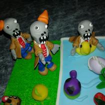 Centro De Torta De Plantas Vs Zoombies