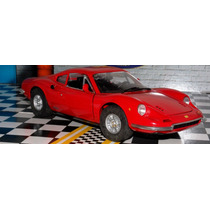 Ferrari Dino 246 Gt Red 1/18 Anson