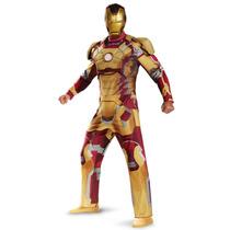 Disfraz De Iron Man Para Adulto Nuevo