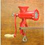 Picadora De Carne De Fundicion N°8 Maquina Manual De Picar