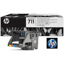 Cabeça De Impressao Plotter Hp 711 Kit Cabeçote C1q10a