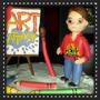 Art Attack Personalizados Para Centros De Torta. Cumpleaños