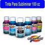 Tinta Para Sublimacion Para Epson 100 Cc 6 Colores