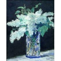 Lienzo Tela Edouard Manet Bouquet Ramo 1883 64 X 50 Cm