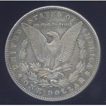 Usa Morgan Dolar 1885 Plata Excelente Silver Dollar Crown
