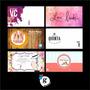 Tarjetas Personales + Diseño Personalizado