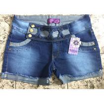 Short Jeans Feminino Plus Size 44/52 Promoção