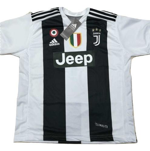 92f31e74b Camisa Juventus Infantil 2018 Branca Preto Nova Frete Oferta - R  120