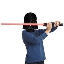 Máscara Darth Vader Luz + Sabre Star Wars, Espada Luz/som