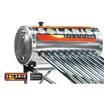 Calentador Solar Solaris 12 Tubos 150 Litros Para 4 Personas