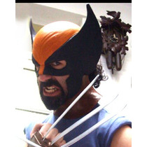 Wolverine Mascara, Disfraz, Careta, Logan, Wollverine, X-men