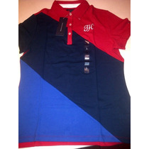 Chomba Tommy Hilfiger,talle L,de Mujer.color Rojo