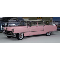 1:18 Cadillac Fleetwood 1955 Rosa Elvis Presley Greenlight