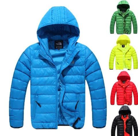 chaquetas north face para niños