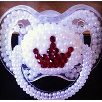 Chupones Y Teteros! Decorados Con Cristales De Swarovski!!!