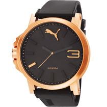 Relógio Puma Masculino Rosé Original 12xs/juros Sedex Gratis
