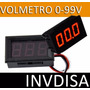 Volmetro Digital Yb27 0 - 99.9vdc Compatible Pic Arduino Avr