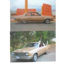 Chevrolet Malibu 1980 Con Placas De Auto Antiguo Único Dueño