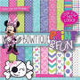 Kit Imprimible Pack Fondos Minnie Mouse 2 Clipart
