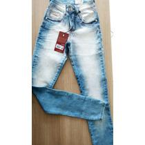 Calça Jeans Feminina Patoge Com Lycra Levanta Bumbum