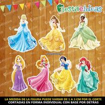 Figuras Coroplast Princesas
