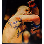 Fotografia Autografiada Firmada Ricardo Lamas Ufc Mma