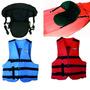 Combo P/kayak 1 Asiento C/ Respaldo + 1 Chaleco Salvavidas
