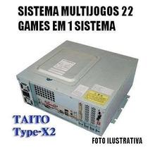 Multijogos Taito Type X2 Arcade Fliperama Naomi Frete Grátis
