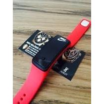 Lindo Relógio Da Nike Pulseira Digital Led Colorido....
