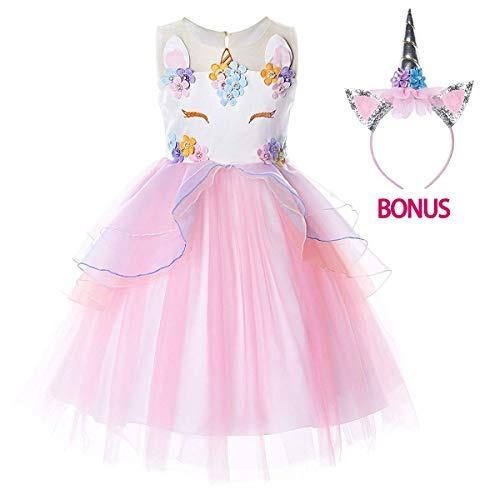 85595368d Geeven Disfraz De Unicornio Para Niñas