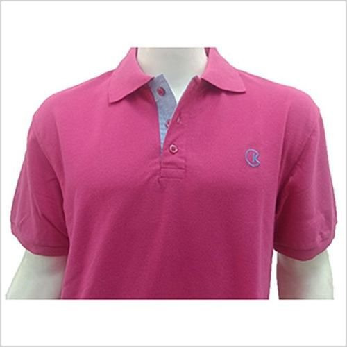 2c8363df33 Camisa Polo Masculina Pink Ck Piquet Cekock - R  104