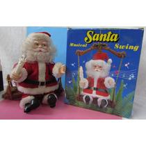 Papai Noel Sentado No Balanço - Para Pendurar - A84