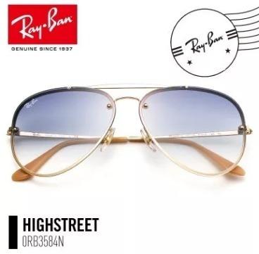 Oculos De Sol Ray Ban Blaze Aviador Rb3584 Lançamento - R  174,45 em  Mercado Livre 80aff313d0