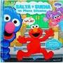 Elmo - Salta Y Suena En Plaza Sesamo - Pop Up - Con Sonido -