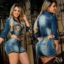 Shorts Jeans Rhero Lançamento Original