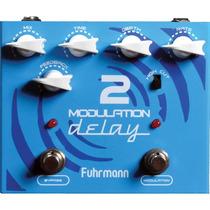 Pedal Fuhrmann Modulation Delay 2 P/ Guitarra + Garantia