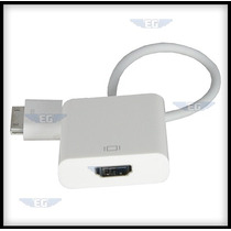 Adaptador Hdmi Ipad 1 2 3 Iphone 4/4s Ipod Envio Gratis